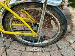 Vintage Schwinn Muscle Stingray 20'' with Schwinn StingRay SLIK Back tire