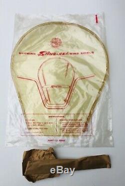 Vintage Schwinn NOS Stingray bicycle WINDSHIELD In Original Packaging