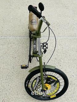 Vintage Schwinn Orange County Choppers 20 Sting Ray Squadron Bike & Accessories