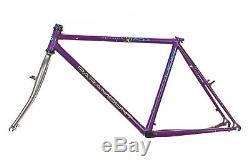 Vintage Schwinn Paramount Series 90 PDG Mountain Bike Frame 19 MOS Lugged Steel