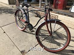Vintage Schwinn Phantom B-6 Mens 1951 Balloon Sweetheart Springer 26 Bicycle