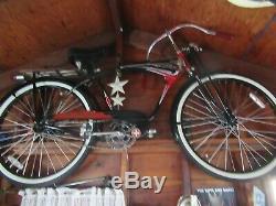 Vintage Schwinn Phantom Bicycle. Original cruiser, restored Showroom condition