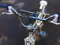 Vintage Schwinn Predator FreeForm EX BMX Bike With White GT Tires 1980s