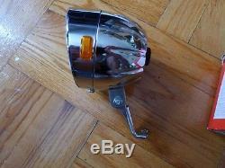 Vintage Schwinn Pumpkin Headlight Stingray Bike N. O. S. Original box Ultra RARE