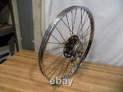 Vintage Schwinn Rear Drum Brake S7 Bike Wheel Tandem Krate Stingray 5-speed 26