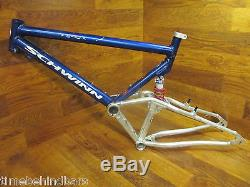Vintage Schwinn S-10 Full Suspension 26 Mountain Bike Frame Rock Shox Deluxe
