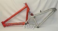 Vintage Schwinn S-20 Sweetspot 26 MTB Large Frame 19.5 Full Suspension Bike