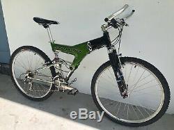 Vintage Schwinn S Carbon Full Suspension Mountain Bike