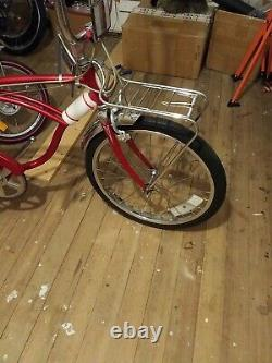 Vintage Schwinn Sting-Ray 20in bicycle Rat Trap Rack Rare. HTF LIKE THIS