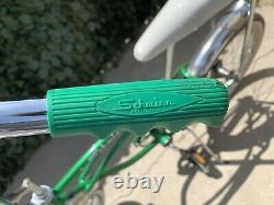 Vintage Schwinn Sting-Ray Green 20 Wheel Bike Banana Pearlie Seat Adult/Kids