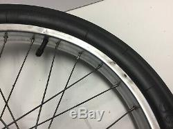 Vintage Schwinn Stingray 20 S2 Rear Chrome Wheel Rim Slik Tire 3 Speed