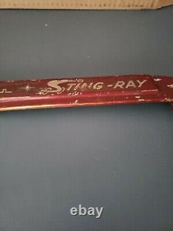 Vintage Schwinn Stingray Chain Guard Red
