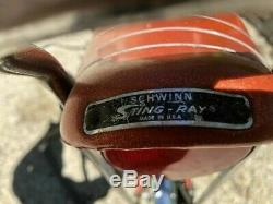 Vintage Schwinn Stingray Fastback 5 Speed with Stickshift (1974)