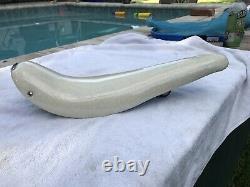 Vintage Schwinn Stingray Krate White Silver Sparkle Banana Seat 20 Smoothie