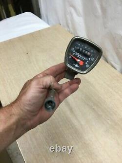 Vintage Schwinn Stingray Speedo. Low Millage Speedometer with Mount bracket