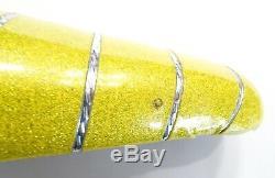 Vintage Schwinn Stingray Yellow Glitter Banana Seat