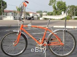Vintage Schwinn Stingray fastback 3 speed Bicycle