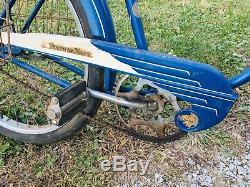 Vintage Schwinn Streamliner B6 Balloon Tire Tank Bike Bicycle Phantom