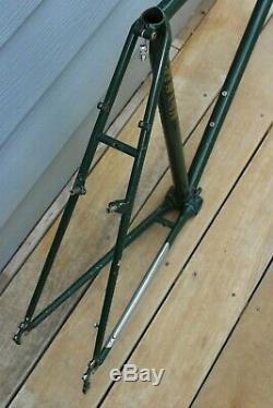 Vintage Schwinn Voyageur Road Touring Bike Frame 56cm Columbus Tenax Cantilever