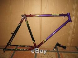 Vintage Schwinn Waterford Paramount Mountain Bike Frame Fillet Brazed PDG Oneof