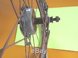 Vintage Schwinn Whizzer Front Wheel For 26 X 2.125 Tire From 1949 Model