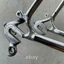 Vintage Schwinn World Voyageur Frame Set 58cm Road Bike 4130 1970s