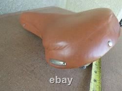 Vintage Scripted Schwinn Centennial Phantom Leather Seat Saddle