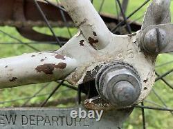 Vintage Starlet White Coral B. F. Goodrich Schwinn Bicycle 1950s