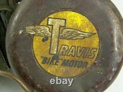 Vintage Travis Bike Motor Kit Bicycle Whizzer Schwinn Phantom Gas Engine