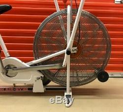 Vintage White Schwinn Air-Dyne Stationary Bike Exercise Local Pickup Only