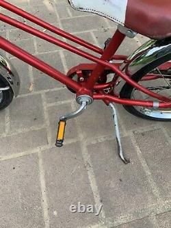 Vintage/retro Schwinn Red/white Kids Unisex Pixie 16 Bicycle Rubber Wheels