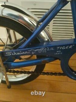 Vintage schwinn lil tiger, sky blue