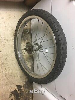 Vintage schwinn stingray 20 X2.125 Rear wheel