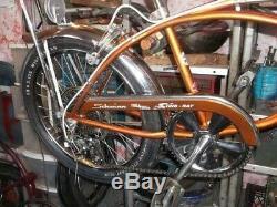 Vintage schwinn stingray krate bicycle