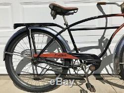 Vintage1953 Schwinn Black Panther Bicycle Old Antique Bike