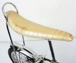 Vtg 1969 Schwinn Sting-Ray Stik Shift 3-Speed Bicycle Campus Green SUPERB
