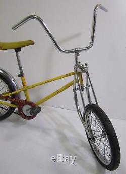 Vtg 1979 Schwinn Stingray Pixie Child Muscle Bike Bicycle Banana Seat Restore