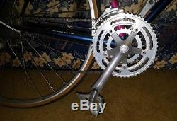 Vtg Bianchi Eros Road Bike 53cm Campione Del Mondo Cr-Mo Tange Italy Schwinn