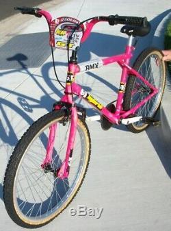Vtg Gt Hybrid Old School Bmx 80s Cruiser Araya 24 Original Clean Survivor Bike