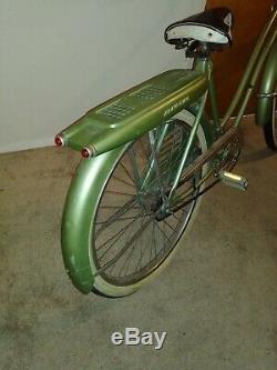 Vtg JC Higgins Bicycle 26 Inch Balloon Tire 1950's Elgin Schwinn Pre War Huffy