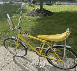 Vtg Schwinn sting ray fastback stik-shift 5 Speed Bicycle Local Pickup Only